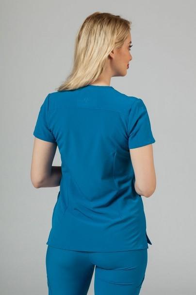 bluzy-medyczne-damskie Bluza damska Adar Uniforms Notched królewski granat