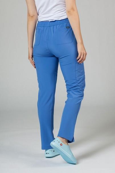 spodnie-medyczne-damskie Spodnie damskie Adar Uniforms Skinny Leg Cargo klasyczny błękit