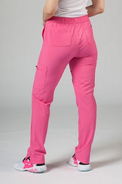 spodnie-medyczne-damskie Spodnie damskie Adar Uniforms Skinny Leg Cargo różowe