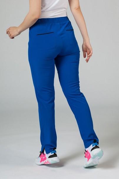 spodnie-medyczne-damskie Spodnie damskie Maevn Matrix Impulse królewski granat