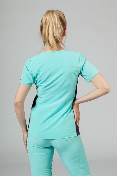 bluzy-medyczne-damskie Bluza damska Maevn Matrix Impulse Asymetric miętowa (aruba)
