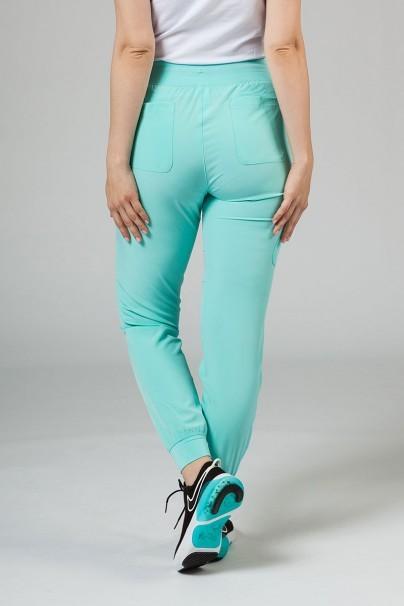 spodnie-medyczne-damskie Spodnie damskie Maevn Matrix Impulse Jogger miętowe (aruba)