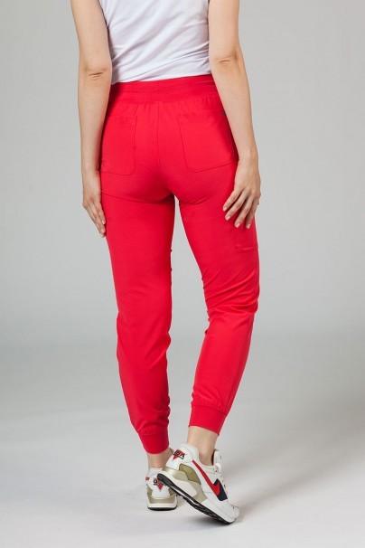 spodnie-medyczne-damskie Spodnie damskie Maevn Matrix Impulse Jogger malinowe