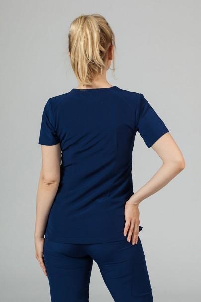 bluzy-medyczne-damskie Bluza damska Maevn Matrix Impulse ciemny granat