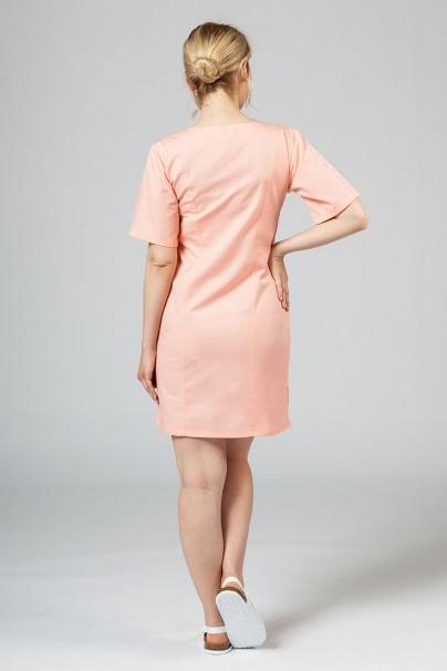 sukienki Sukienka medyczna damska klasyczna Sunrise Uniforms łososiowa