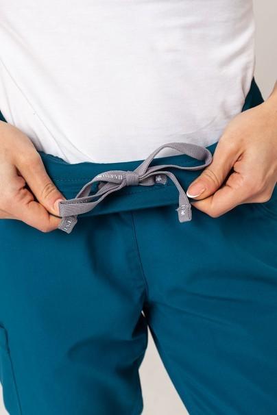 spodnie-medyczne-damskie Spodnie damskie Maevn Matrix czarne