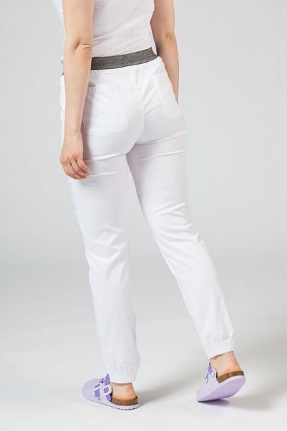 spodnie-medyczne-damskie Spodnie damskie Maevn Matrix białe