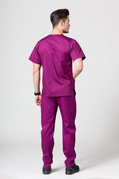 komplety-medyczne-meskie Komplet medyczny męski Sunrise Uniforms jasna oberżyna (z bluzą uniwersalną)