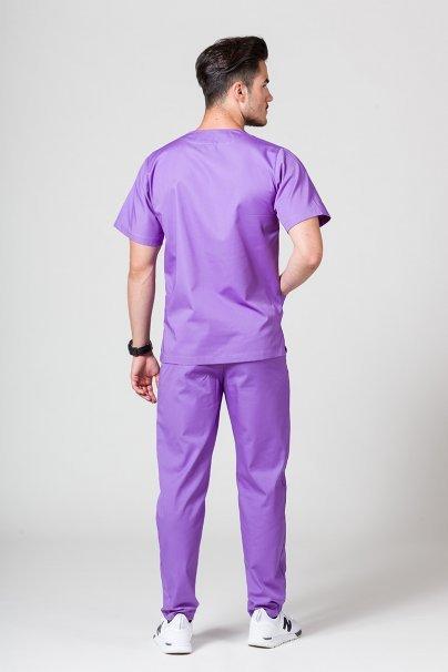 komplety-medyczne-meskie Komplet medyczny męski Sunrise Uniforms fioletowy (z bluzą uniwersalną)