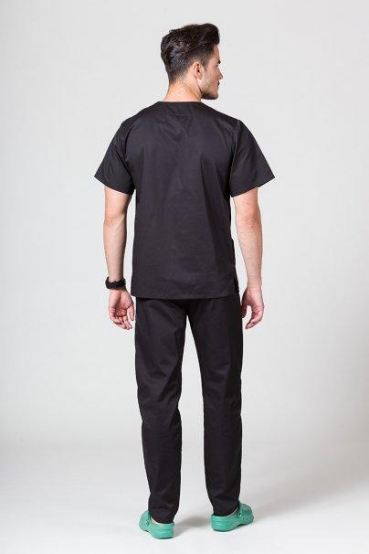 komplety-medyczne-meskie Komplet medyczny męski Sunrise Uniforms czarny (z bluzą uniwersalną)