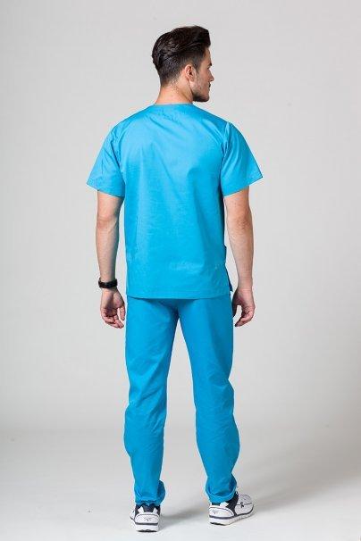 komplety-medyczne-meskie Komplet medyczny męski Sunrise Uniforms turkusowy (z bluzą uniwersalną)