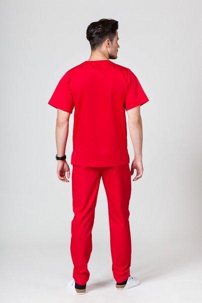 komplety-medyczne-meskie Komplet medyczny męski Sunrise Uniforms czerwony (z bluzą uniwersalną)