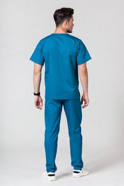 komplety-medyczne-meskie Komplet medyczny męski Sunrise Uniforms karaibski błękit (z bluzą uniwersalną)