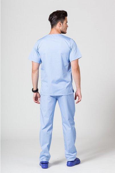 komplety-medyczne-meskie Komplet medyczny męski Sunrise Uniforms niebieski (z bluzą uniwersalną)