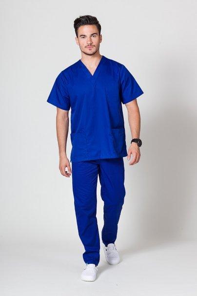 komplety-medyczne-meskie Komplet medyczny męski Sunrise Uniforms granatowy (z bluzą uniwersalną)