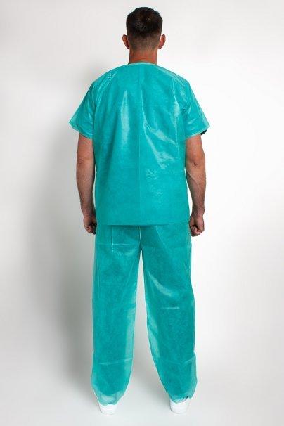 jednorazowe Jednorazowy komplet medyczny, ochronny, zielony, rozmiar uniwersalny