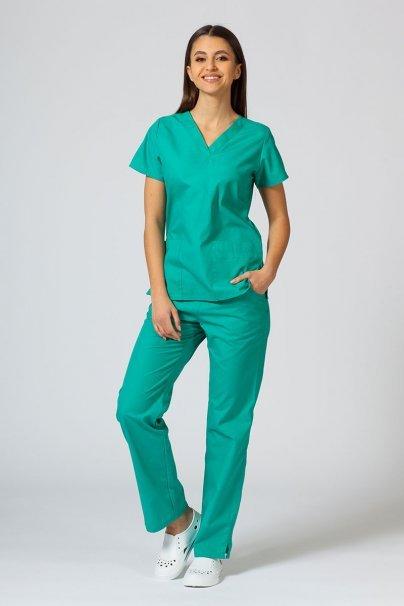 bluzy-medyczne-damskie Bluza damska Maevn Red Panda jasnozielona