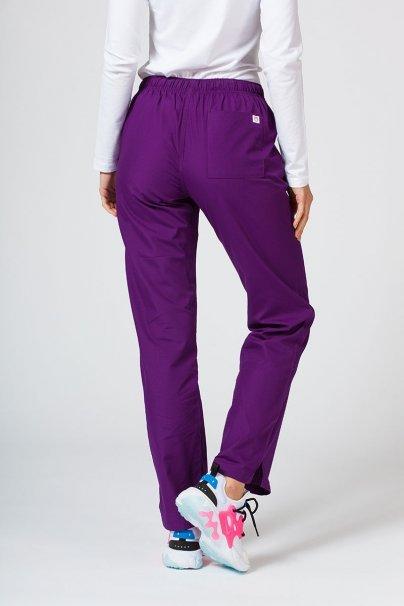 spodnie-medyczne-damskie Spodnie damskie Maevn Red Panda fioletowe