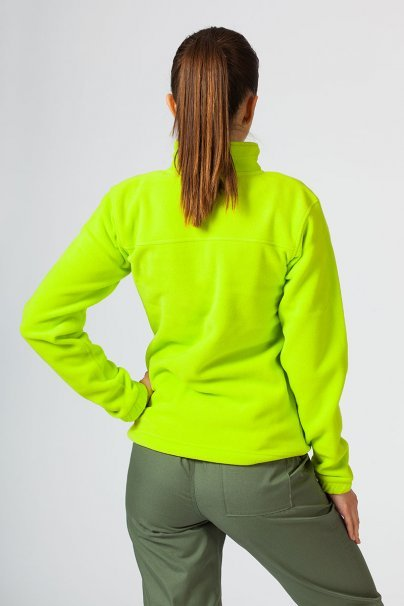 bluzy-polarowe-damskie Damska bluza polarowa Malfini limonkowa