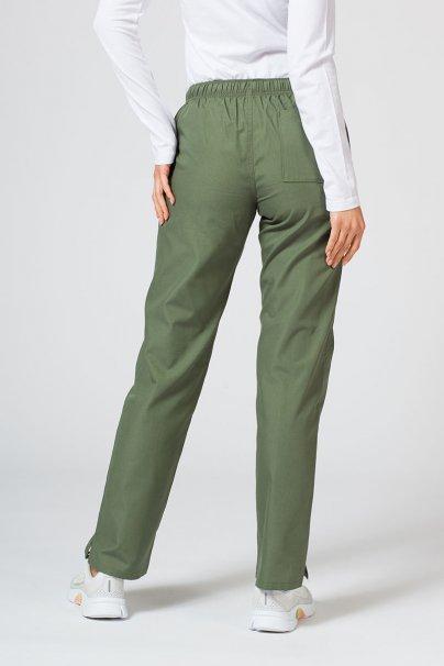 spodnie-medyczne-damskie Spodnie damskie Maevn Red Panda oliwkowa