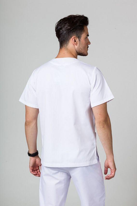 bluzy-medyczne-meskie Bluza medyczna uniwersalna Sunrise Uniforms biała promo