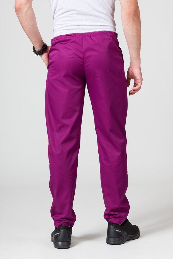 spodnie-medyczne-meskie Spodnie medyczne uniwersalne Sunrise Uniforms jasna oberżyna