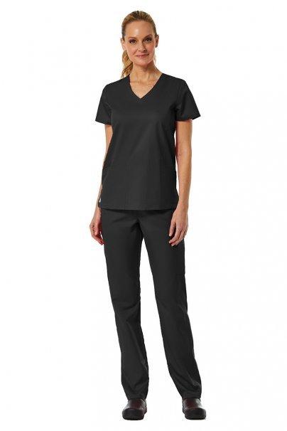 spodnie-medyczne-damskie Spodnie damskie Maevn EON Classic Yoga czarne