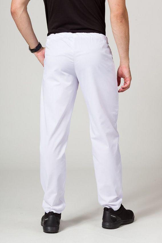 spodnie-medyczne-meskie Spodnie medyczne uniwersalne Sunrise Uniforms białe