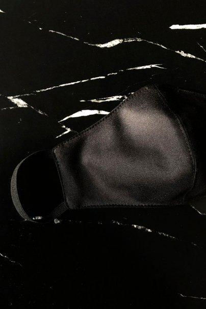 maski-ochronne Maska ochronna Echo, 2-warstwowa (100% bawełna), męska, czarna