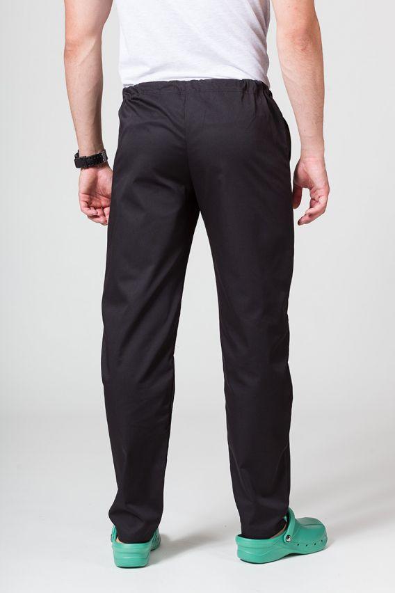 spodnie-medyczne-meskie Spodnie medyczne uniwersalne Sunrise Uniforms czarne