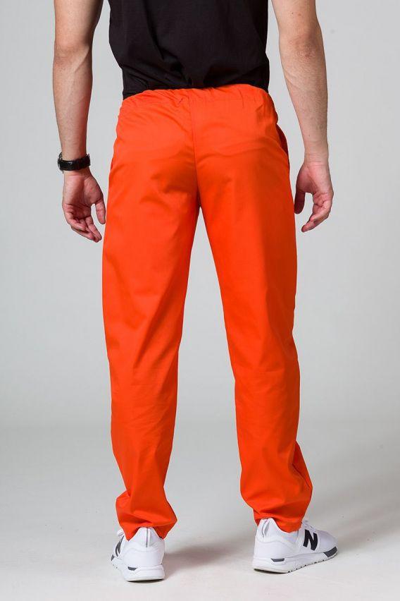 spodnie-medyczne-meskie Spodnie medyczne uniwersalne Sunrise Uniforms pomarańczowe