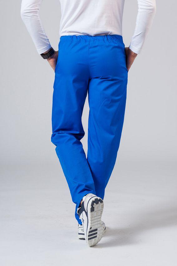 spodnie-medyczne-meskie Spodnie medyczne uniwersalne Sunrise Uniforms królewski granat