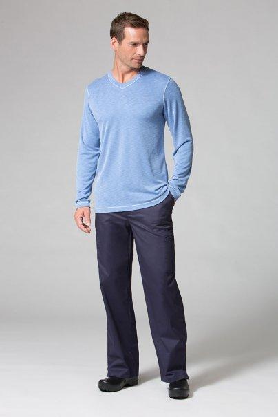 koszulki-medyczne-meskie-z-krotkim-rekawem Koszulka męska z długim rękawem Maevn Modal niebieska