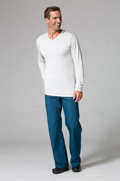 koszulki-medyczne-meskie-z-krotkim-rekawem Koszulka męska z długim rękawem Maevn Modal jasnoszara