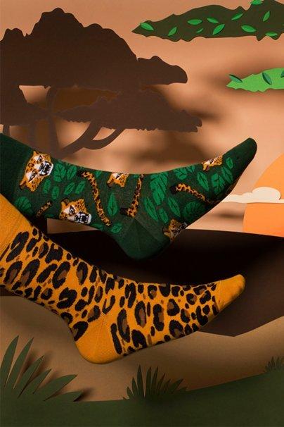 skarpetki Kolorowe skarpetki El Leopardo - Many Mornings