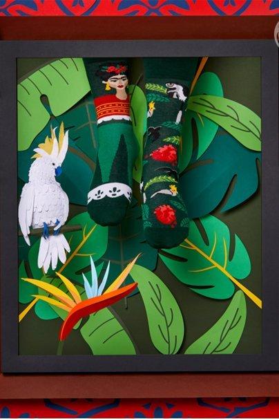 skarpetki Kolorowe skarpetki Feel Frida - Many Mornings