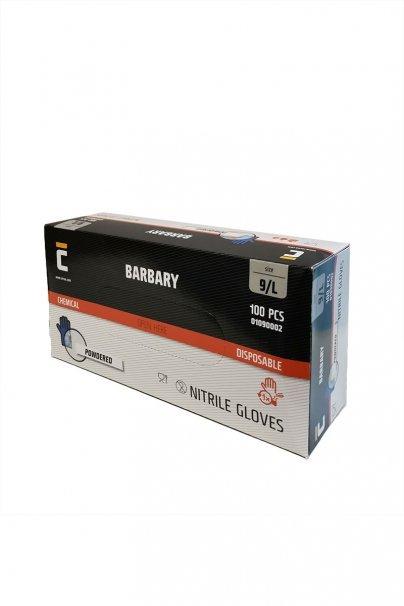 jednorazowe Atestowane rękawice nitrylowe Cerva, niebieskie, cena za 100 szt. Deklaracja Zgodności