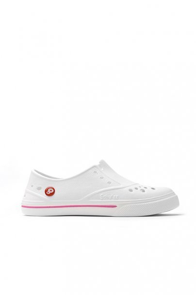 obuwie-medyczne-damskie Obuwie Schu'zz Sneaker'zz białe/różowe