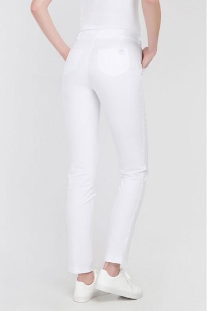 spodnie-medyczne-damskie Spodnie medyczne rurki Vena Cindy białe