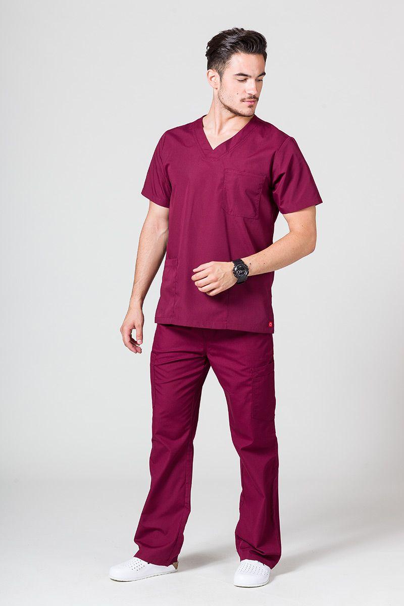 Komplet medyczny męski Maevn Red Panda wiśniowy