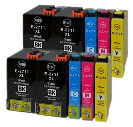 10 x tusz do EPSON T2711-2714 WF-7110DTW WF-7210DTW