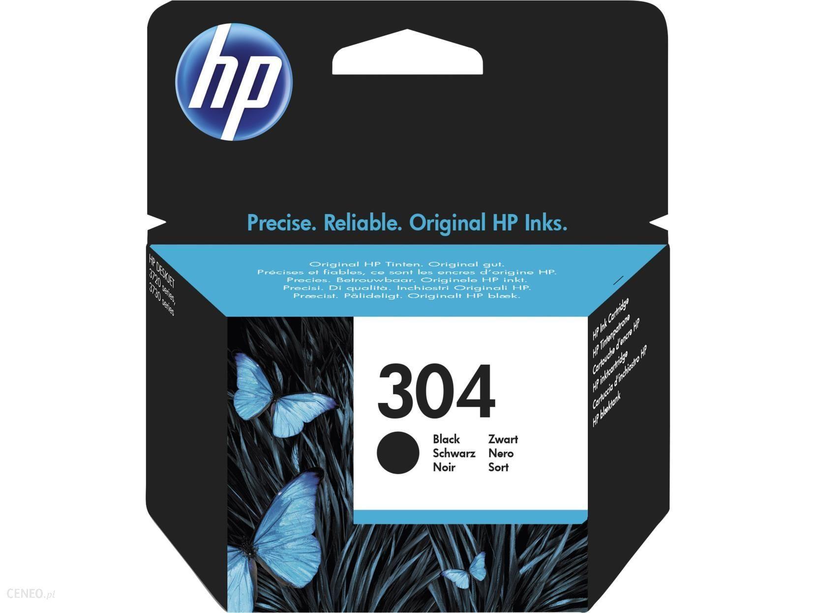 Tusz HP 304 Deskjet Ink czarny, oryginalny