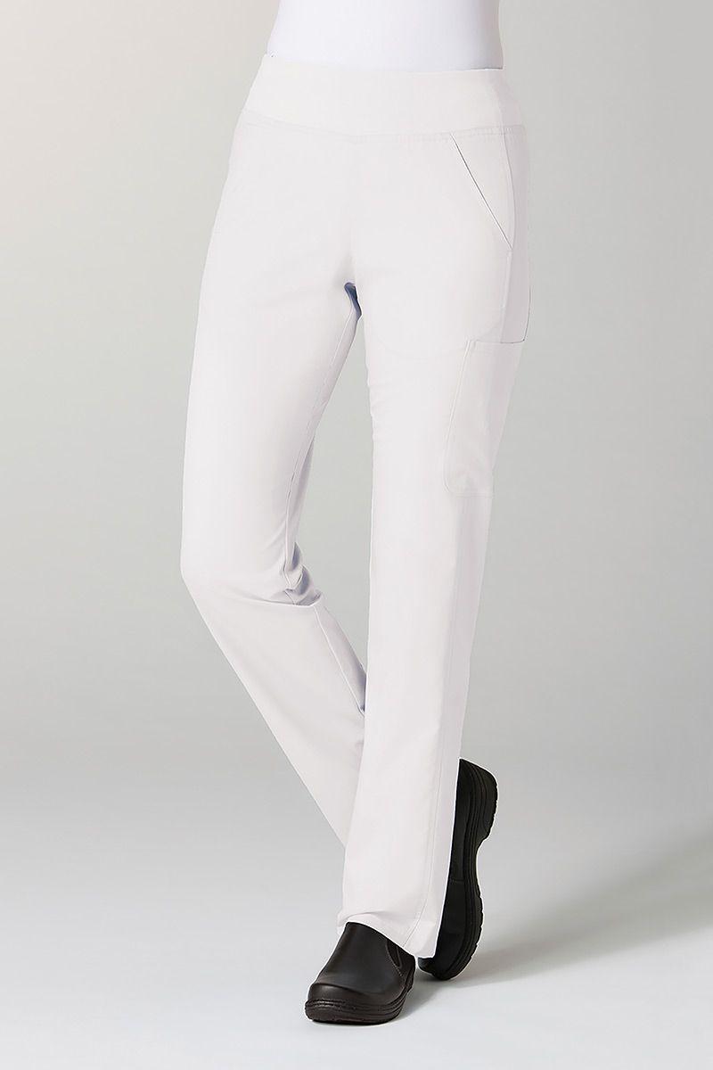 Spodnie damskie Maevn EON Classic Yoga białe