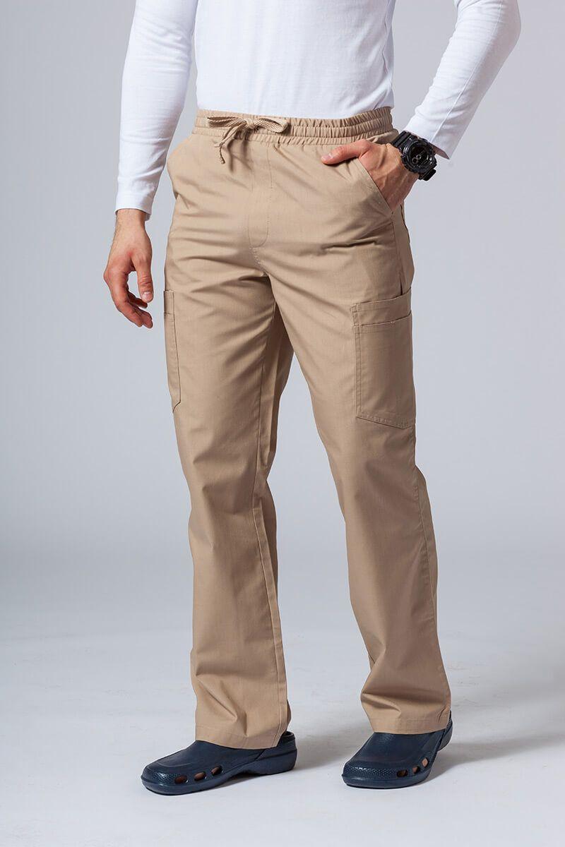 Spodnie męskie Maevn Red Panda Cargo (6 kieszeni) beżowe