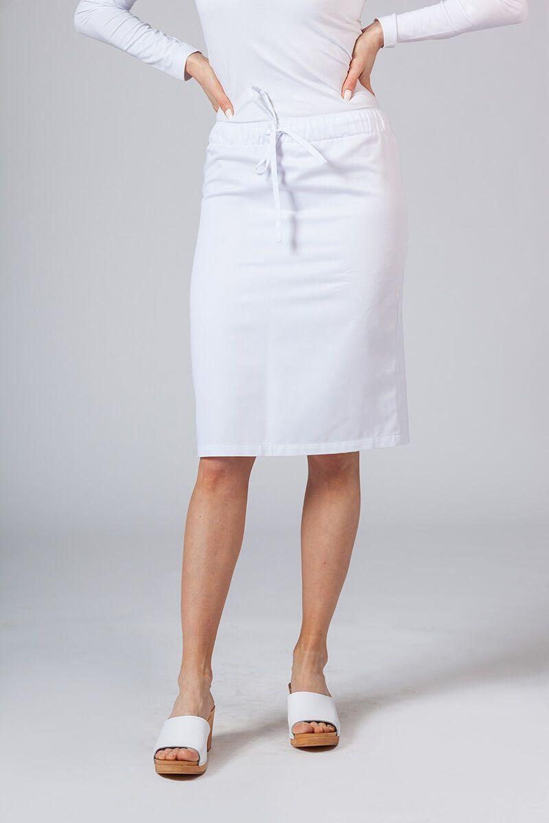 Spódnica medyczna długa Sunrise Uniforms biała