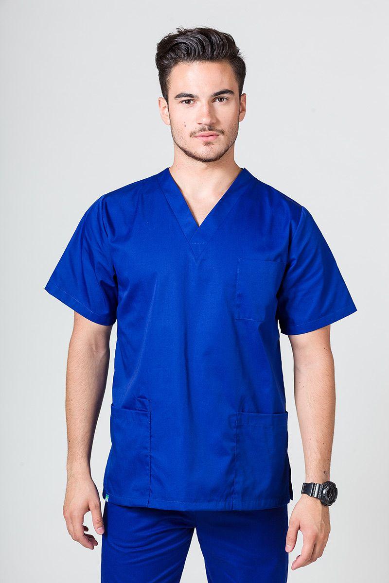 Bluza medyczna uniwersalna Sunrise Uniforms granatowa