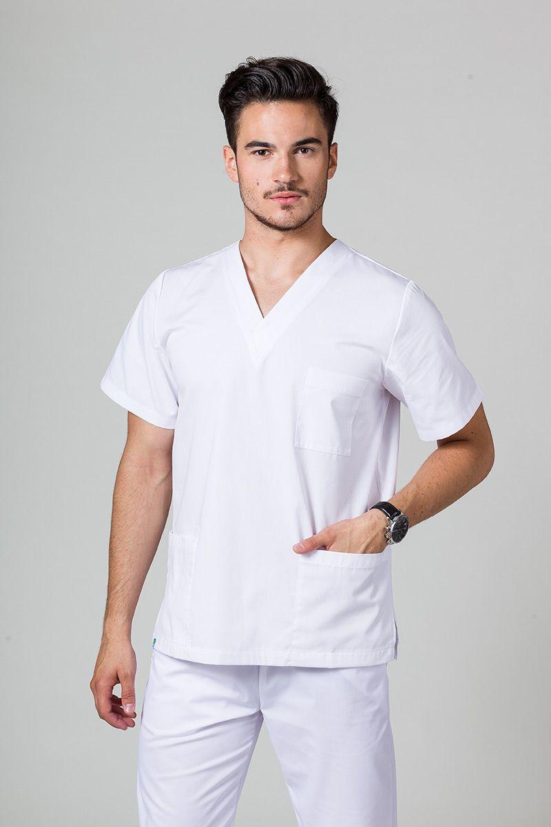 Bluza medyczna uniwersalna Sunrise Uniforms biała