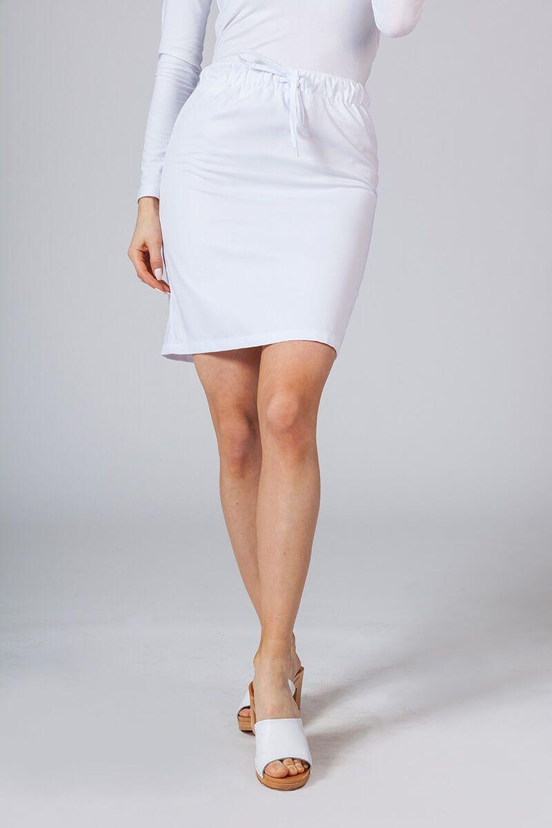 Spódnica medyczna krótka Sunrise Uniforms biała