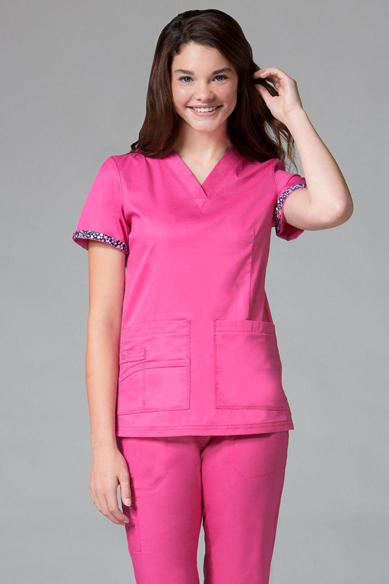 Bluza damska Maevn PrimaFlex różowa