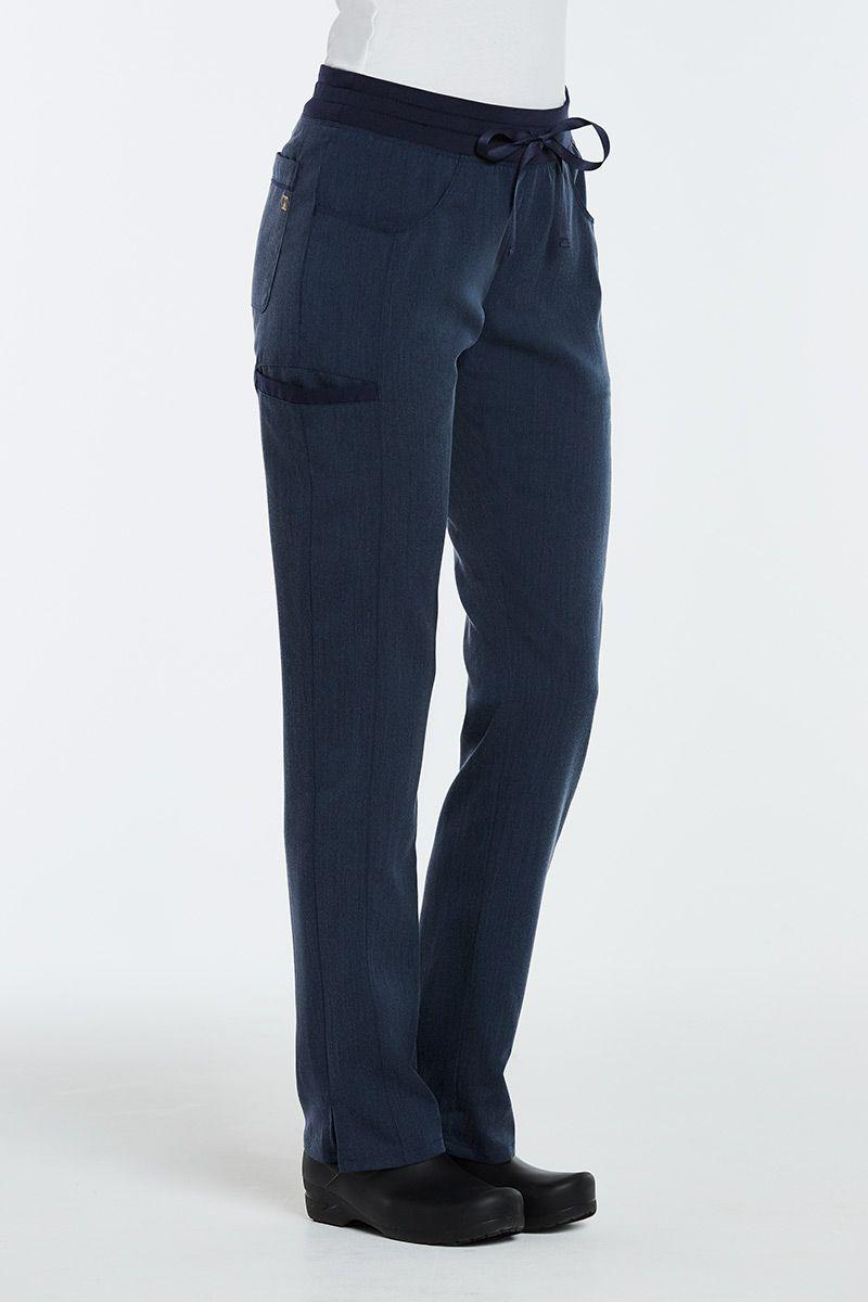 Spodnie damskie Maevn Matrix Pro granat denim
